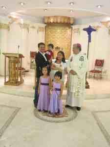 Maria baptism