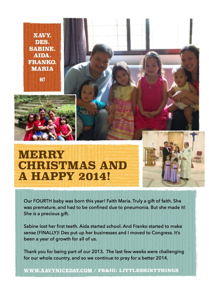 Christmas Message 2013